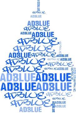 Gota de Adblue que evita la contaminación del combustible
